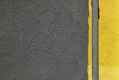 Photograph - Yellow On Grey by Stuart Allen