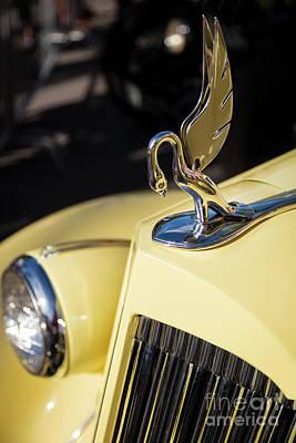 Photograph - Yellow Packard Automobile  by Brian Jannsen