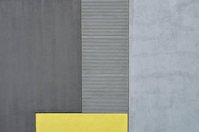 Photograph - Yellow Rectangle by Stuart Allen