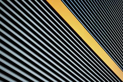Photograph - Yellow Stripe by Stuart Allen