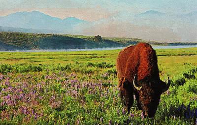 Painting - Yellowstone National Park - 02  by Andrea Mazzocchetti