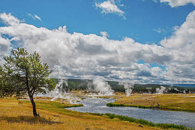 Art Print featuring the photograph Yellowstone Rising by Matthew Irvin