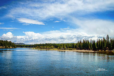 Photograph - Yellowstone River by Mike Braun