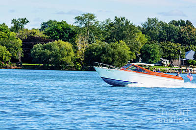 Photograph - Yes Its A Chris Craft by Randy J Heath
