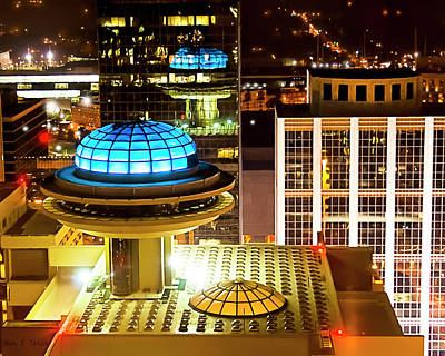 Photograph - Yesterday's Future - Classic Atlanta Skyline by Mark Tisdale