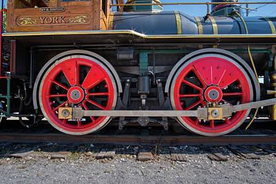 Photograph - York 17 Steam Engine by Mark Dodd