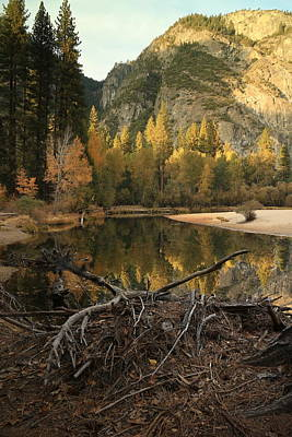 Photograph - Yosemite At Dusk by Jeffrey PERKINS