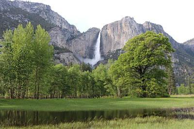 Photograph - Yosemite Falls  by Christy Pooschke