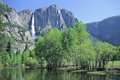 Photograph - Yosemite Falls by S. Greg Panosian