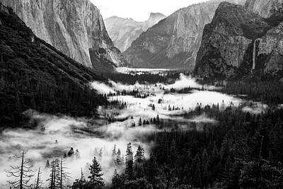 Photograph - Yosemite Fog 2 by Stephen Holst