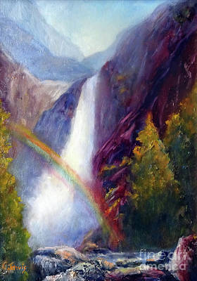 Painting - Yosemite Morning by Carolyn Jarvis