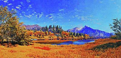Painting - Yosemite National Park - 02 by Andrea Mazzocchetti