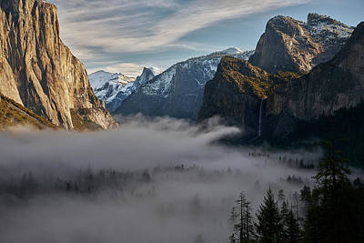Photograph - Yosemite Valley In View by Jon Glaser