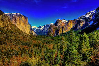 Photograph - Yosemite Valley View by Garry Gay