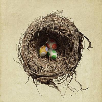 Egg Wall Art - Drawing - Yoshi Eggs by Eric Fan