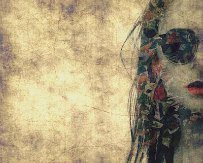 Glamour Digital Art - You Fill Up My Senses by Paul Lovering