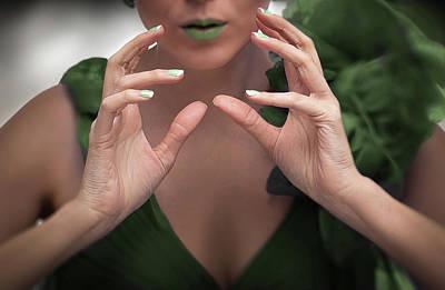 Photograph - You Hands No. 3 by Juan Contreras