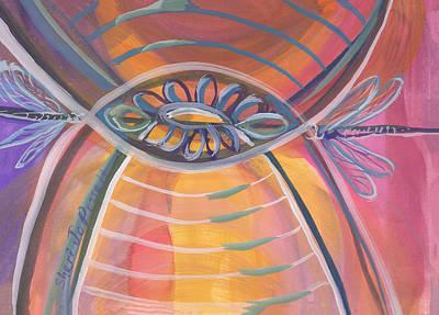 Painting - You, My Center by Sheri Jo Posselt