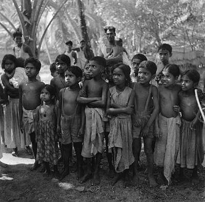 Indian Culture Photograph - Young Audience by Three Lions