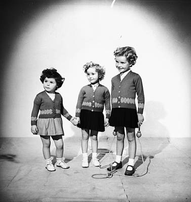 Photograph - Young Friends by Chaloner Woods
