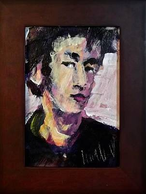 Painting - Young Lennon by Les Leffingwell