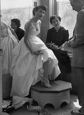 Photograph - Young Working Wife Puts On Style Shows A by Nina Leen