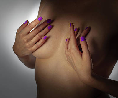 Photograph - Your Hands No. 6 by Juan Contreras