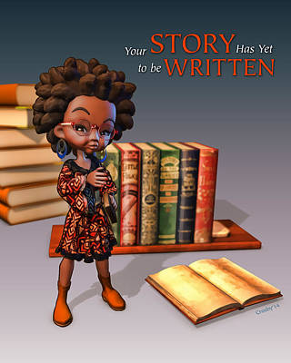 Digital Art - Your Story Has Yet To Be Written by Darryl Crosby