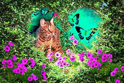 Digital Art - You're Are In My Heart by Debra and Dave Vanderlaan