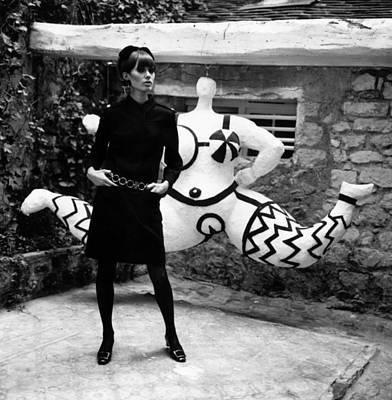 Photograph - Ysl Dress by Reg Lancaster