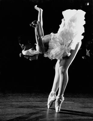 Photograph - Yvette Chauvire by Erich Auerbach