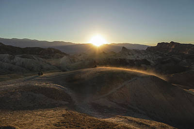 Photograph - Zabriski Point Wind by Davin McLaird