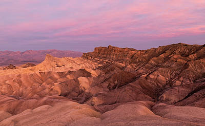 Photograph - Zabriskie Point At Dawn by Loree Johnson