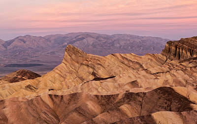 Photograph - Zabriskie Point - Death Valley by Loree Johnson