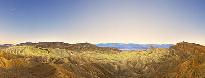 Photograph - Zabriskie Point, Death Valley National by Eastcott Momatiuk