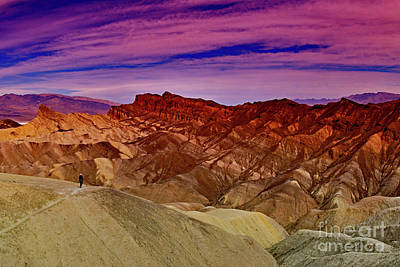Photograph - Zabriskie Point In Death Valley by Bipul Haldar