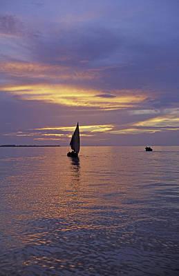 Dhow Photograph - Zanzibar. East African Coast. Tanzania by Dook