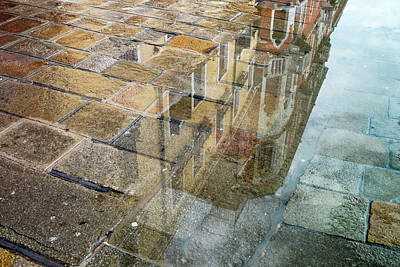 Photograph - Zattere Reflections 5, Venice by Jean Gill