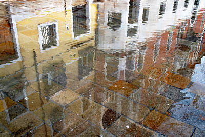 Photograph - Zattere Reflections 3, Venice by Jean Gill