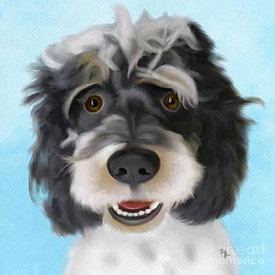 Painting - Zeb by Tammy Lee Bradley