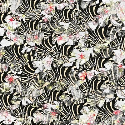 Zebra Fish 11 Art Print