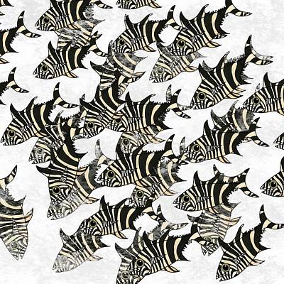 Zebra Fish 9 Art Print