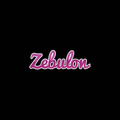 Digital Art - Zebulon #zebulon by Tinto Designs