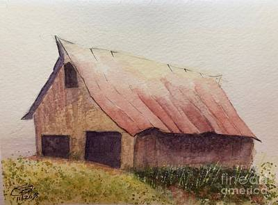 Painting - Zeke's Barn by Joel Deutsch