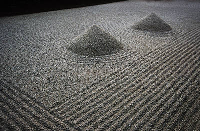 Photograph - Zen Garden Of Zuiho-in, A Sub-temple Of by Jeffrey Bosdet