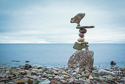 Sculpture - Zen Stack #10 by Pontus Jansson
