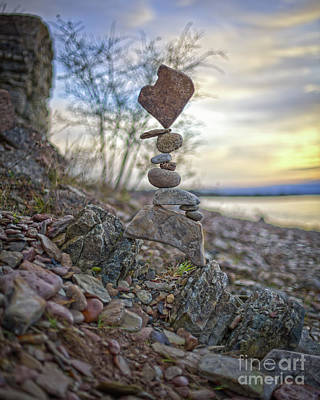 Sculpture - Zen Stack #12 by Pontus Jansson