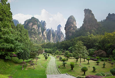 Photograph - Zhangjiajie National Forest Park by Ed Freeman