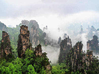 Photograph - Zhangjiajie National Forest Park  by Usha Peddamatham