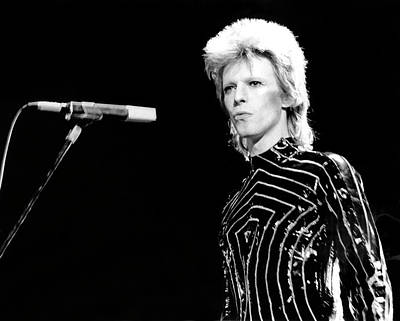 Photograph - Ziggy Stardust Era Bowie In La by Michael Ochs Archives